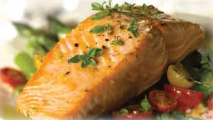 fresh fish yukon river salmon